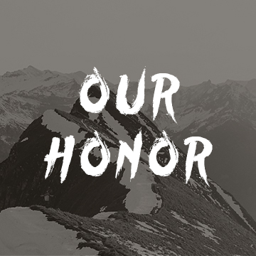 our honor